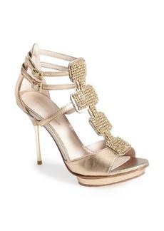 Pelle Moda 'Poppy' Suede Platform Sandal (Women)