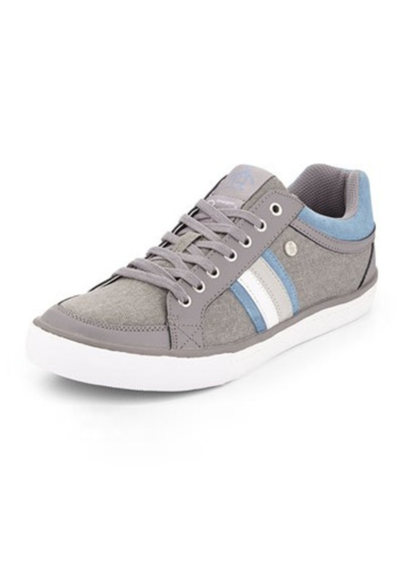 penguin penguin thaw striped side canvas sneaker shoes