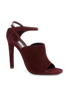 Prada Ankle Strap Suede Sandal (Women)