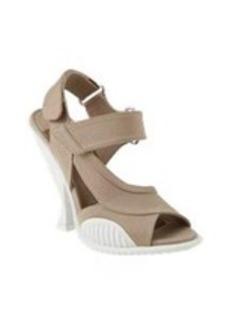 Prada Asymmetric Cone-Heel Sandals