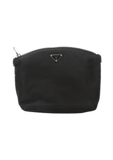 Prada black tessuto nylon cosmetic case