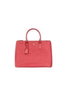 Prada BN1786 Fuoco (Red) Saffiano Lux Double Zip Bag
