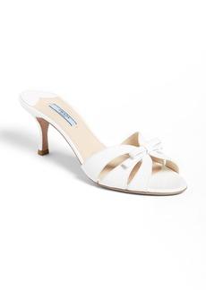 Prada Bow Slide Sandal