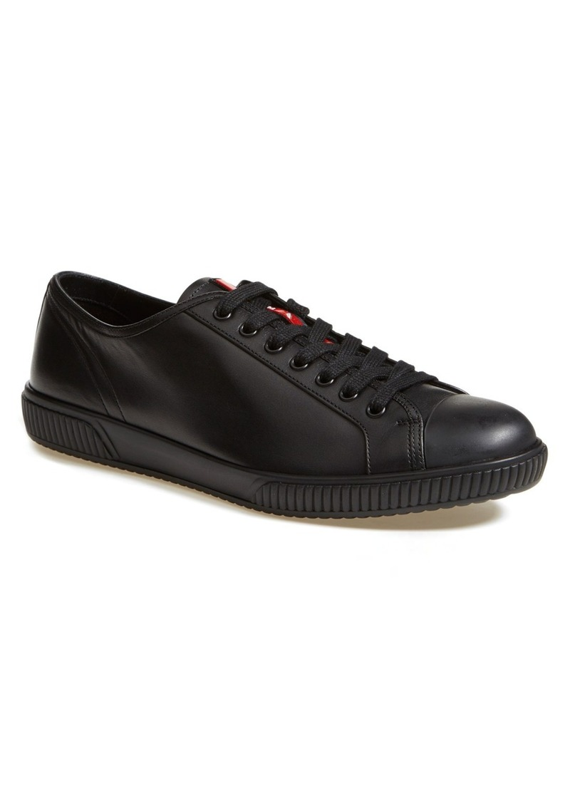 prada sneakers americas cup red patent black mesh male models picture. Black Bedroom Furniture Sets. Home Design Ideas