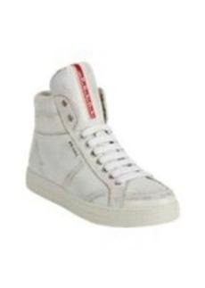Prada Linea Rossa Hidden-wedge High-top Sneakers