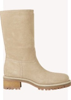 Prada Linea Rossa Shearling-Lined Pull-On Boots
