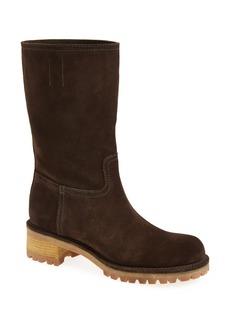 Prada Lug Bottom Boot (Women)