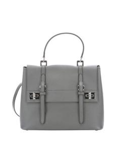 Prada marble saffiano leather top handle bag