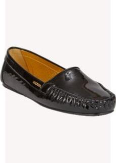 Prada Patent Whip-Stitch Loafers