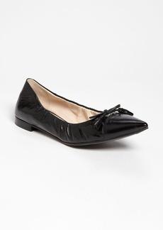 Prada Pointy Toe Ballerina Flat