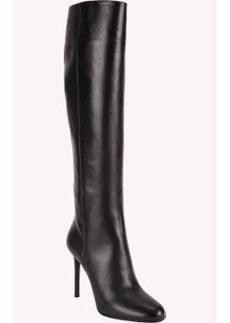 Prada Tapered-Toe Knee Boots