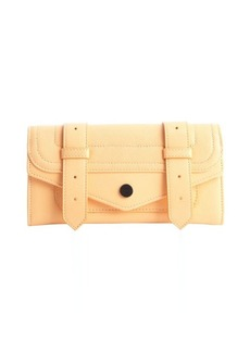 Proenza Schouler apricot leather 'PS1 Continental' wallet
