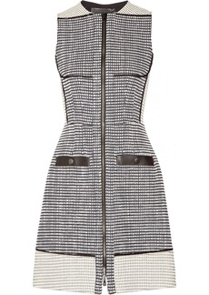 Proenza Schouler Basketweave tweed dress