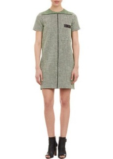 Proenza Schouler Basketweave Tweed Shift