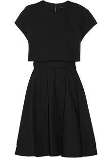 Proenza Schouler Belted cotton mini dress