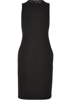 Proenza Schouler Belted crepe dress