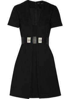 Proenza Schouler Belted crepe mini dress