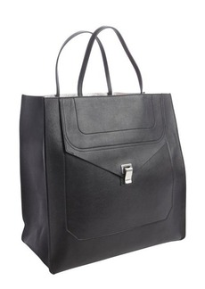Proenza Schouler black leather 'PS1' convertible tote bag