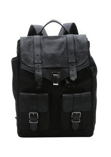 Proenza Schouler black nylon and leather 'PS1 New' backpack