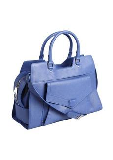 Proenza Schouler blue leather 'PS13' convertible shoulder bag