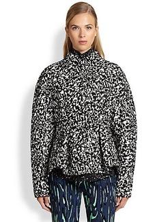 Proenza Schouler Boucle Jacquard Peplum Jacket