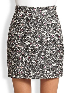 Proenza Schouler Carpet Pad Jacquard Mini Skirt