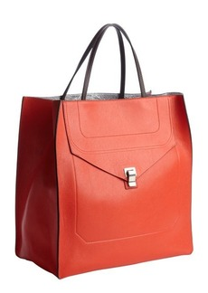 Proenza Schouler chili red leather 'PS1' convertible tote bag