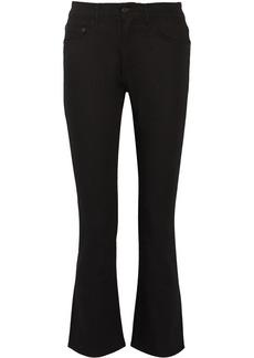 Proenza Schouler Cotton-blend mid-rise bootcut jeans