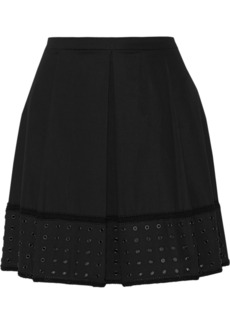 Proenza Schouler Cotton-blend twill mini skirt