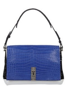 Proenza Schouler Crocodile PS Elliot Shoulder Bag