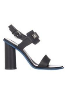 Proenza Schouler Cube-Embellished Slingback Sandals