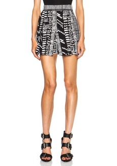 """Proenza Schouler <div class=""""product_name"""">Pleated Viscose Shorts</div>"""
