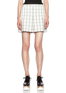 """Proenza Schouler <div class=""""product_name"""">Pleated Viscose Suiting Shorts</div>"""