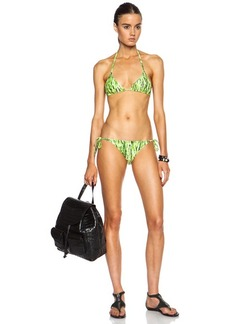 "Proenza Schouler <div class=""product_name"">Tie Dye Print Polyamide-Blend Bikini</div>"