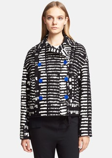 Proenza Schouler Double Breasted Jacquard Jacket