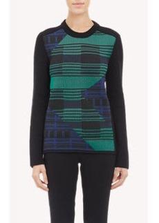 Proenza Schouler Geo-Jacquard Sweater
