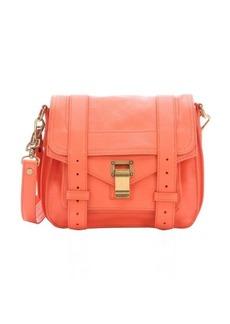 Proenza Schouler grapefruit leather 'PS 1 Pouch' crossbody bag