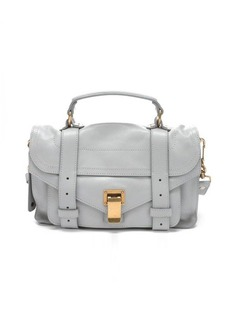 Proenza Schouler grey leather small 'PS1' convertible satchel