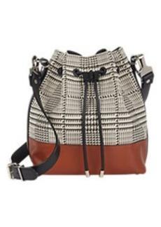 Proenza Schouler Houndstooth Medium Bucket Bag