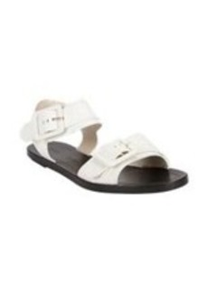 Proenza Schouler Leather Buckle Flat Sandals