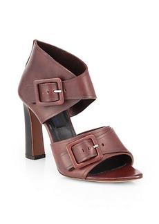 Proenza Schouler Leather Buckle Sandals