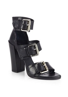 Proenza Schouler Leather Buckle Sandals