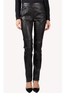 Proenza Schouler Leather High-Waisted Pants