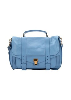 Proenza Schouler light blue leather small 'PS 1' convertible shoulder bag