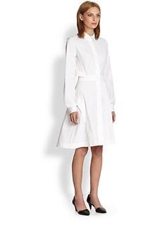 Proenza Schouler Long-Sleeve Shirtdress