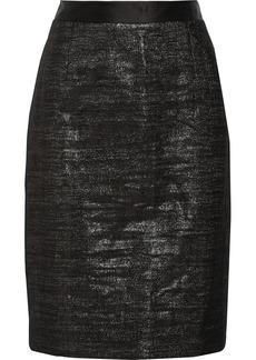 Proenza Schouler Metallic wool-blend skirt
