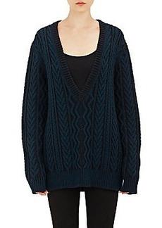 Proenza Schouler Oversized V-Neck Sweater