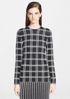 Proenza Schouler Plaid Sweater