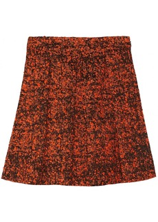 Proenza Schouler Pleated bouclé skirt