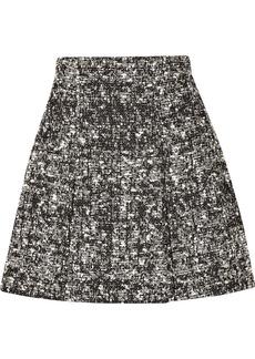 Proenza Schouler Pleated bouclé skirt